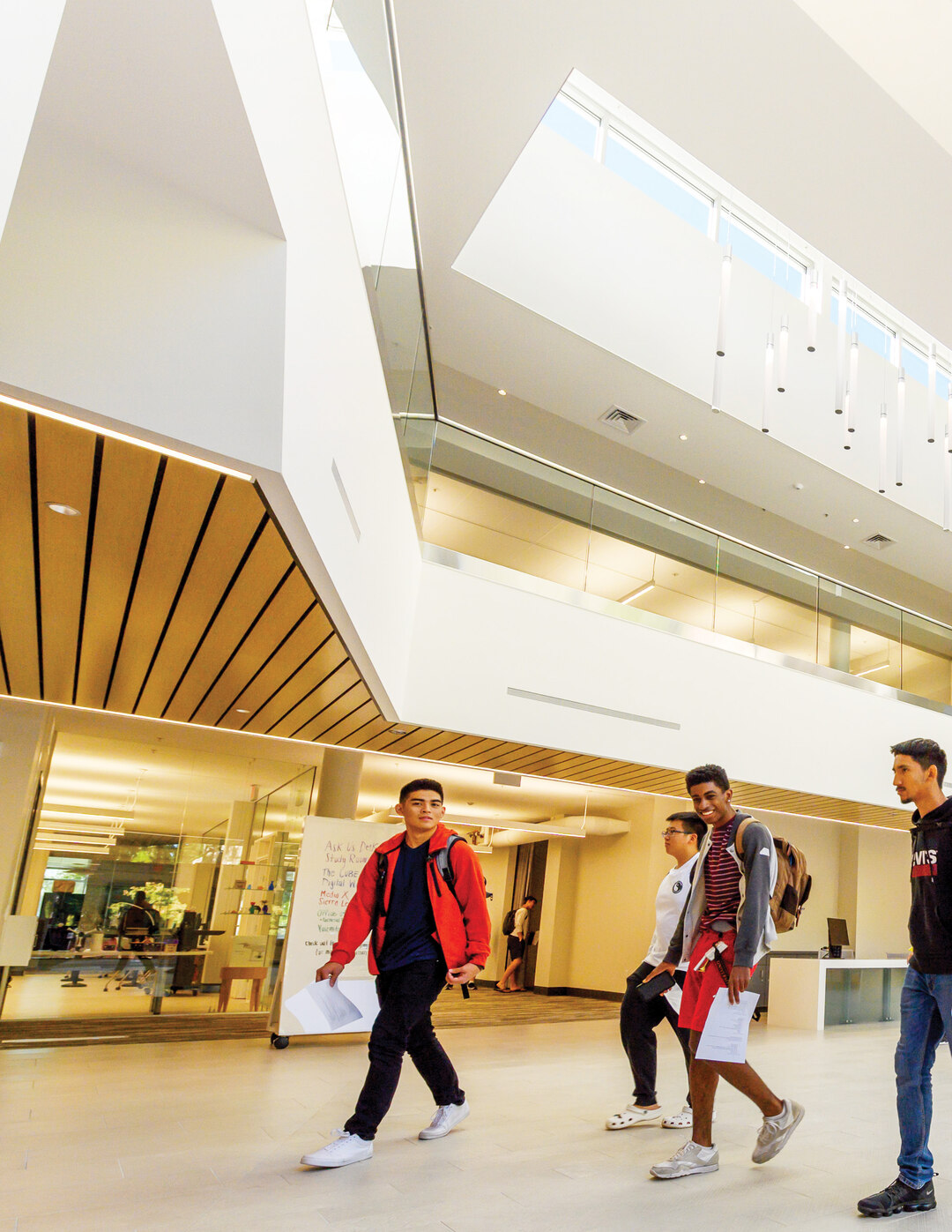 Page 22 of Re-imagined Library Electrifies Students, Faculty and Staff