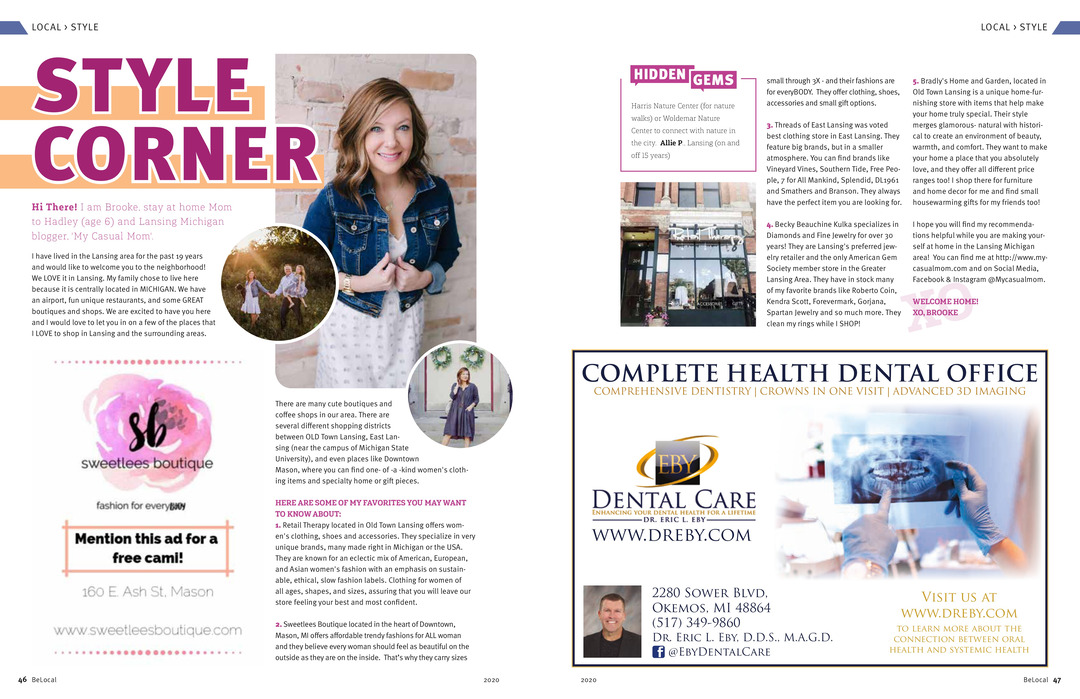 Page 46 of Style Corner