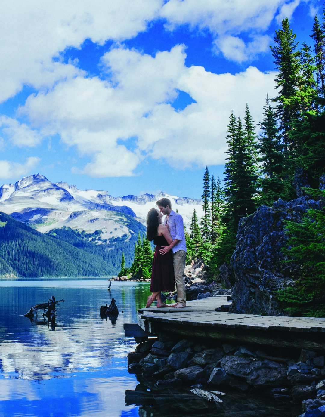Page 26 of Naturally Romantic Engagement in BC Mountains