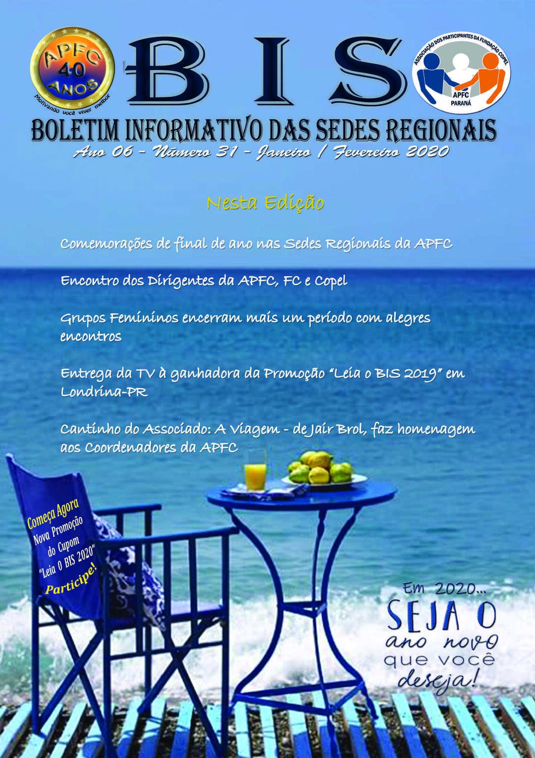 Page 1 of   BOLETIM INFORMATIVO DAS SEDES REGIONAIS - Janeiro - Fevereiro - 2020