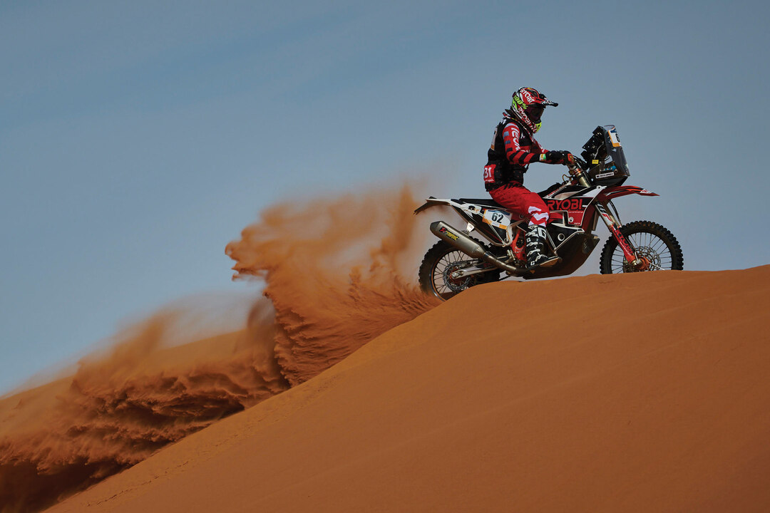 Page 62 of First woman from Africa to ever have finished the Dakar on a motorcycle