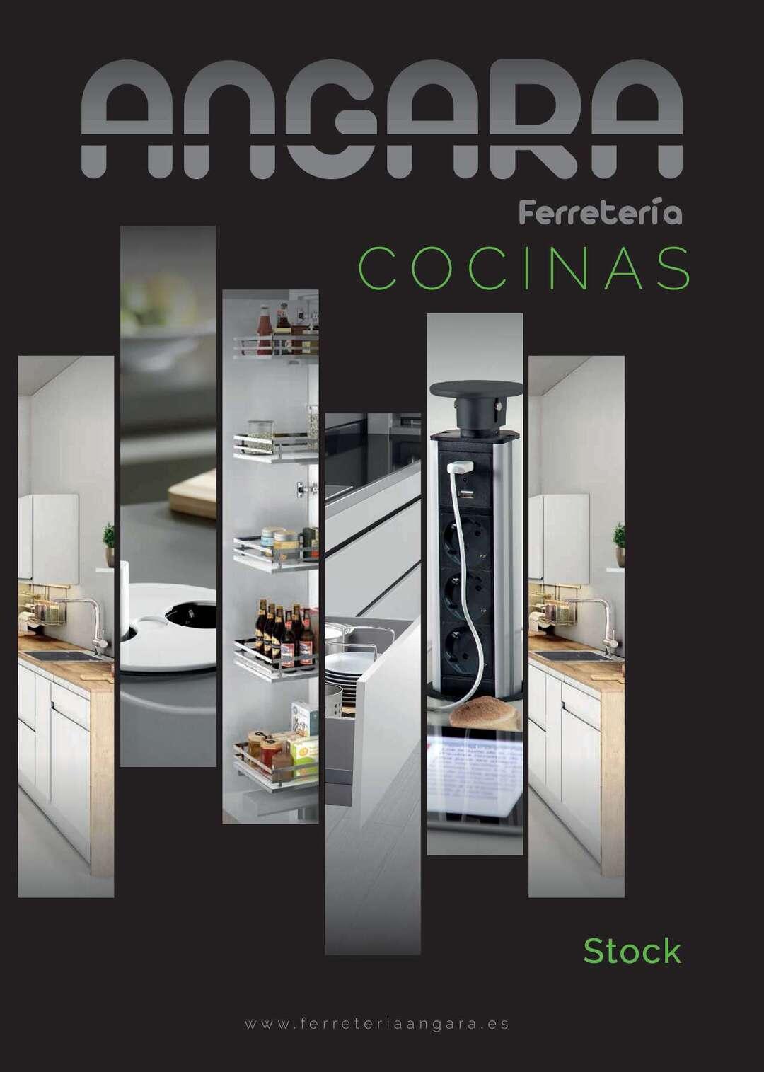 Page 1 of Catálogo Herrajes y Accesorios para cocina