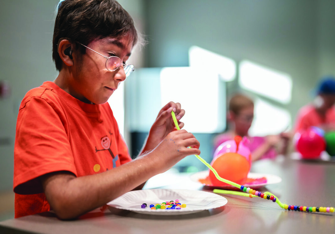Page 18 of Program Helps Children Tap Creativity and Inner Calm through Art Therapy