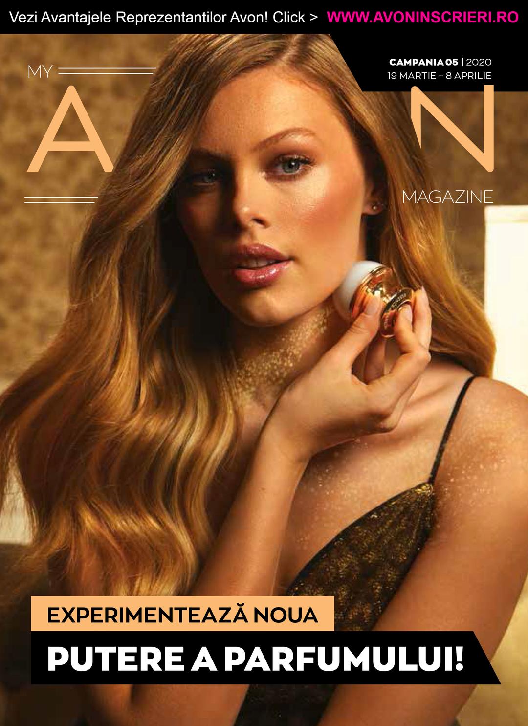Page 1 of Revista My Avon Magazine C5/2020 - www.avoninscrieri.ro