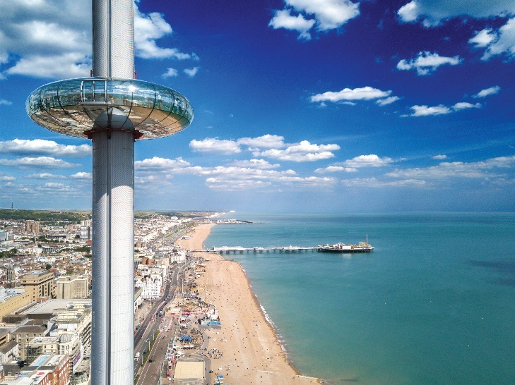 Page 1 of British Airways i360 Key Stage 1 Lesson Plan