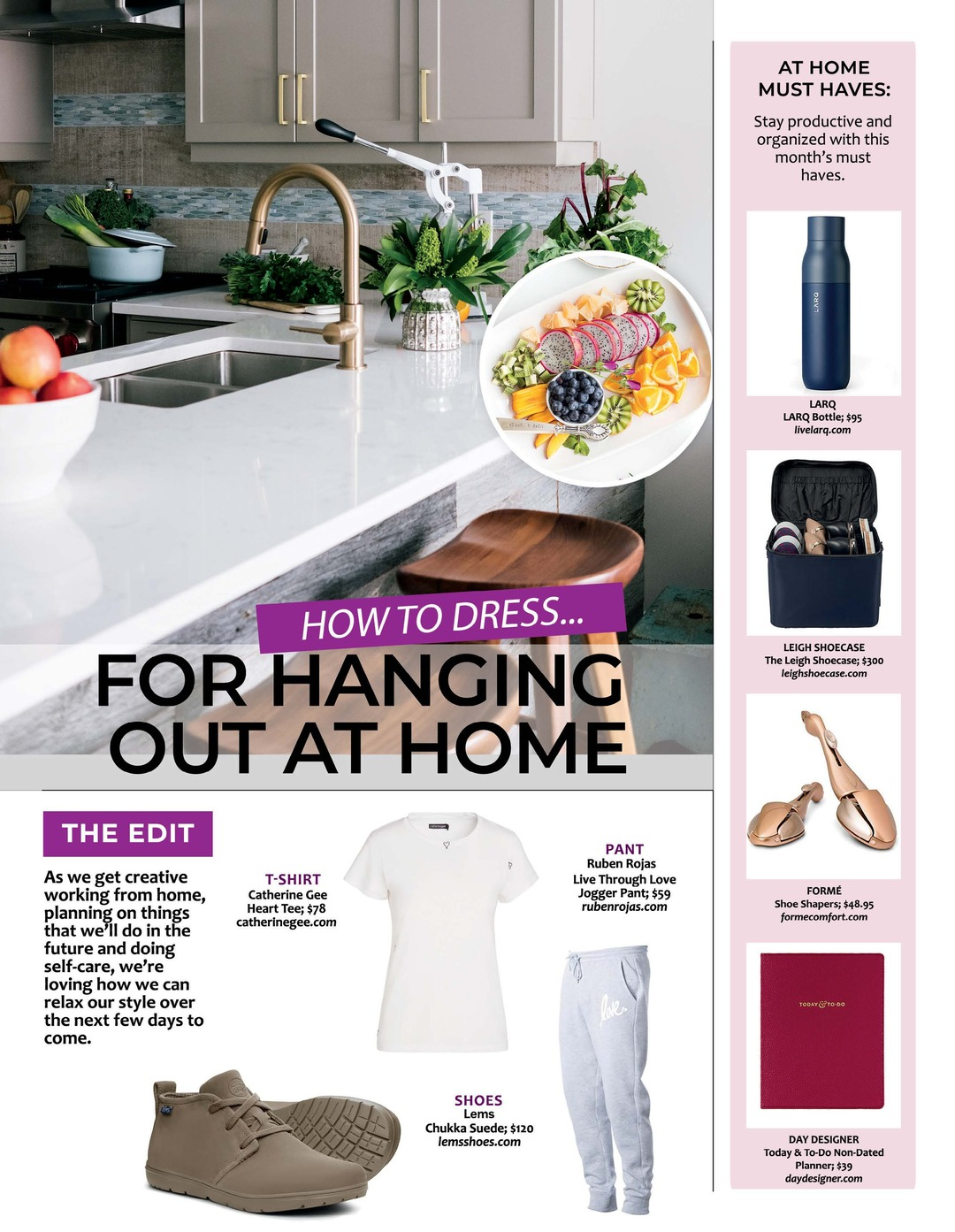 Page 101 of Athleisure Mag #51 Mar 2020 | How to Dress for Hanging Out at Home