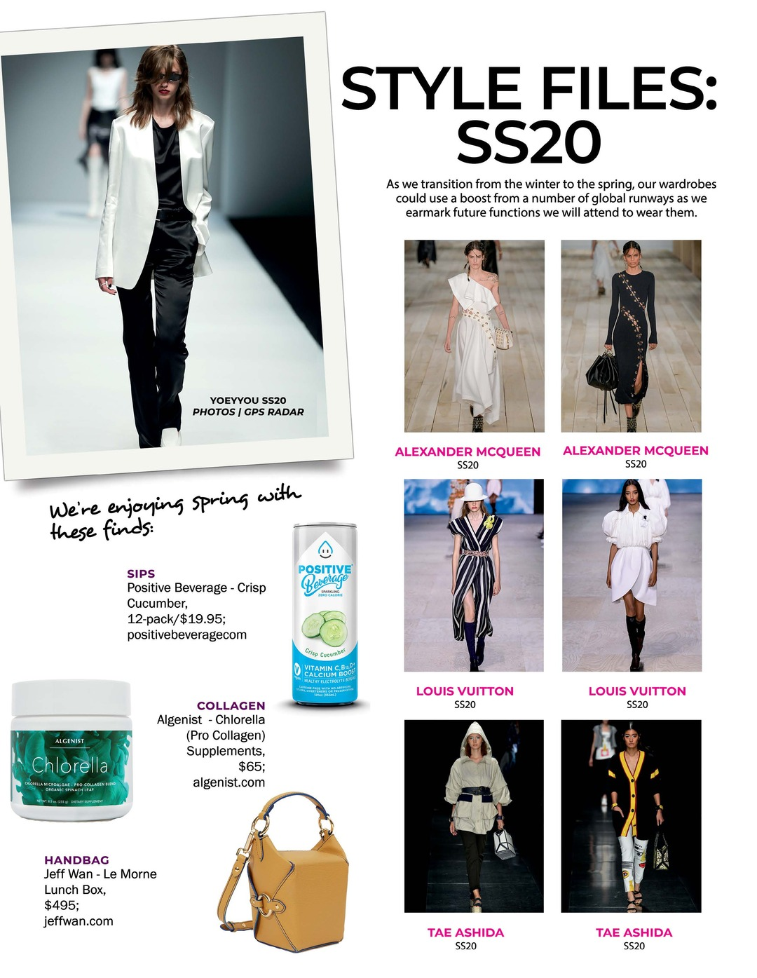 Page 96 of Athleisure Mag #51 Mar 2020 | Style Files: SS20