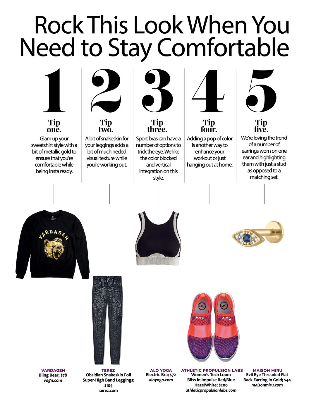 Page 97 of Athleisure Mag #51 Mar 2020 | Rock This Look When You Need to Stay Comfortable