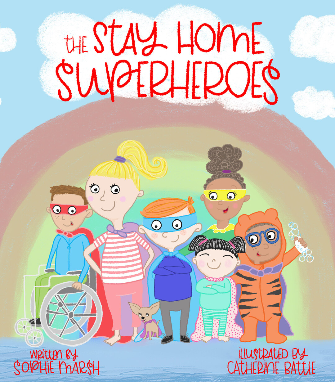 Page 1 of The Stay Home Superheroes