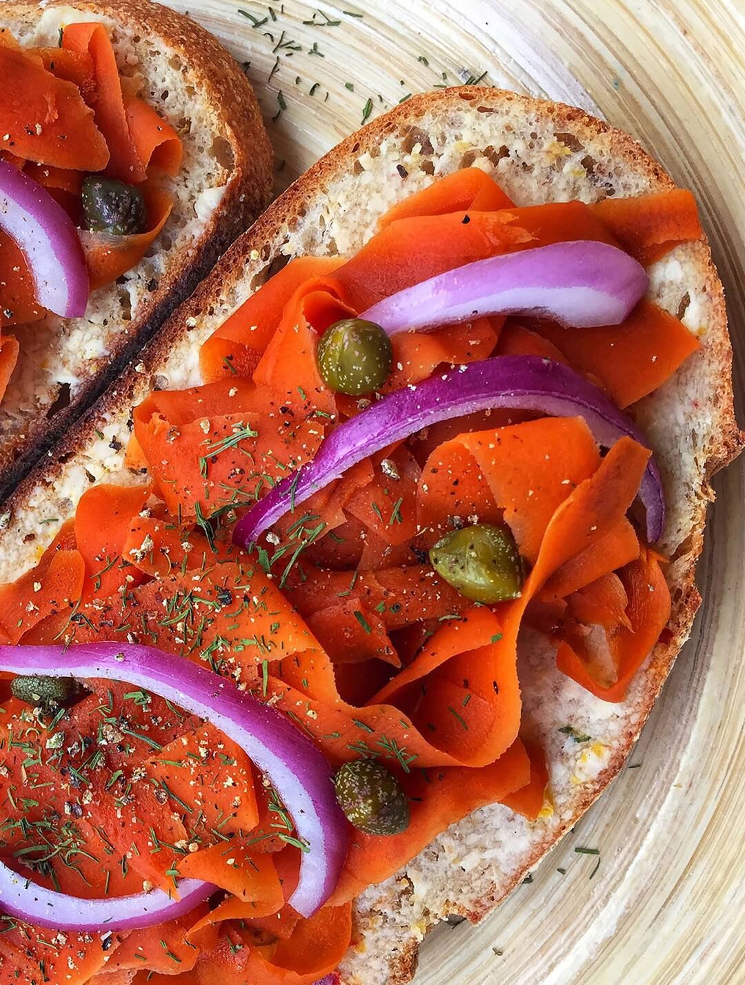 Page 38 of Vegan Carrot Lox Toast