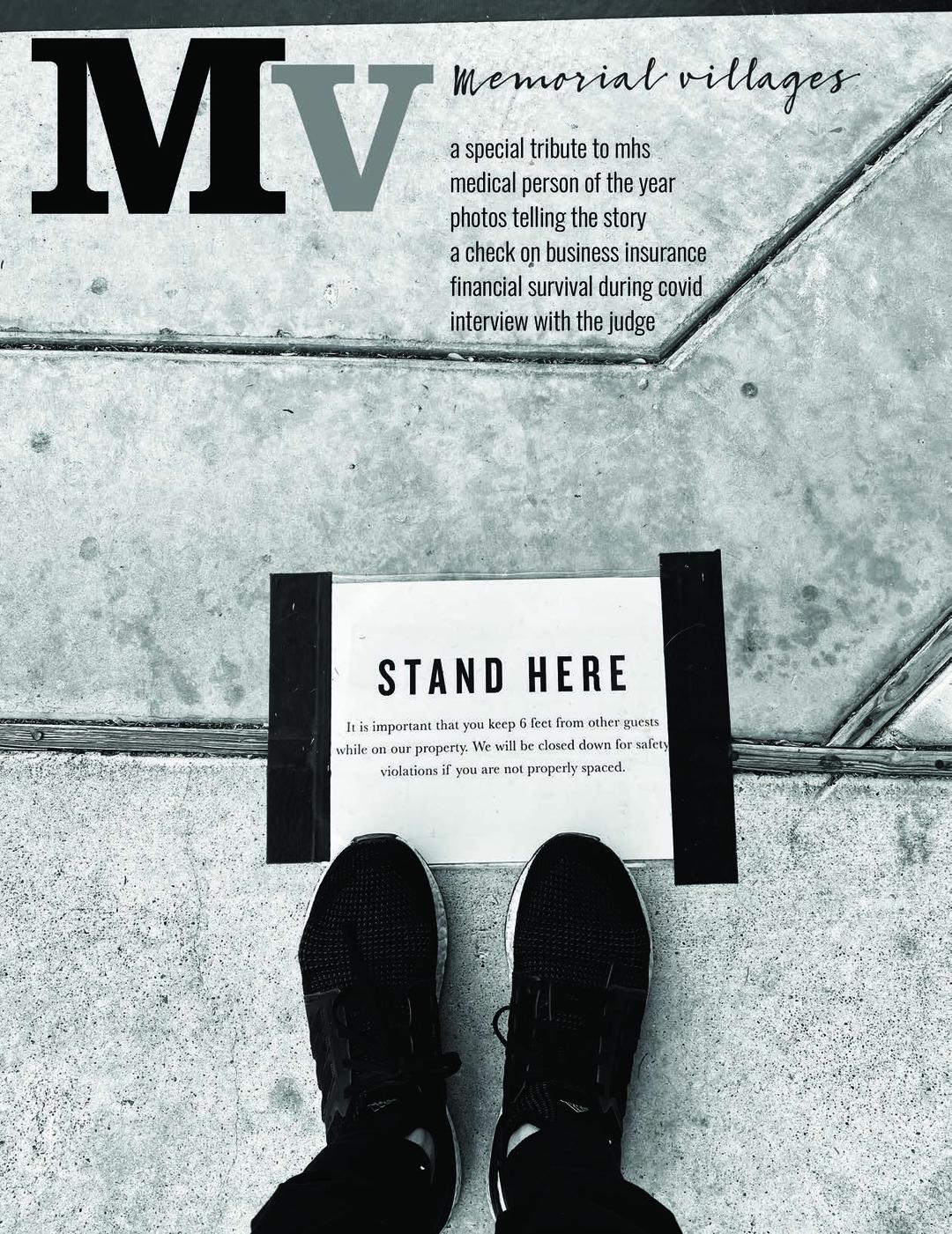 Page 1 of Mv - Memorial Villages Magazine