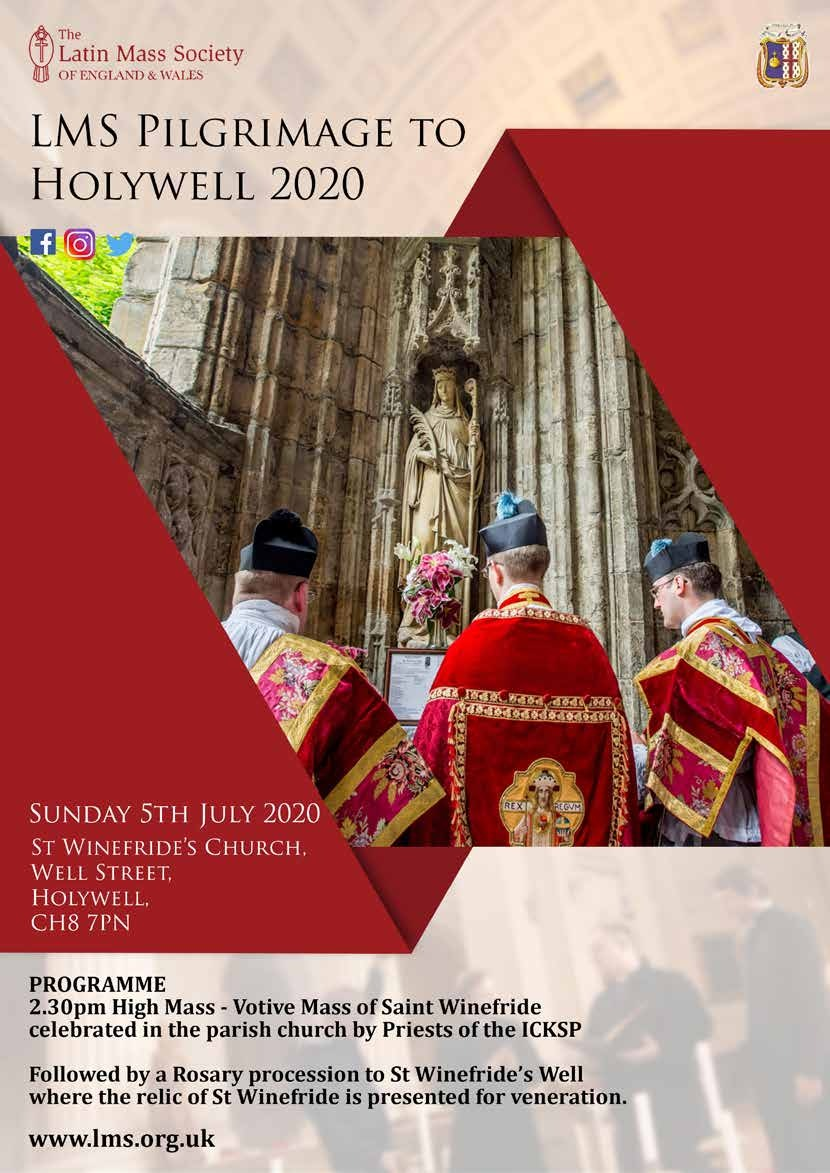 Page 4 of LMS Pilgrimage to Holywell 2020