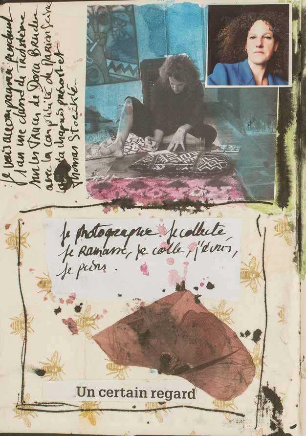 Page 6 of Carnet d'atelier - Sur les  traces de Dora Bruder