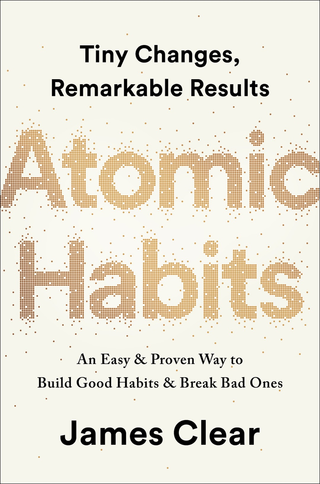 Page 1 of ATOMIC HABITS by James Clear free PDF