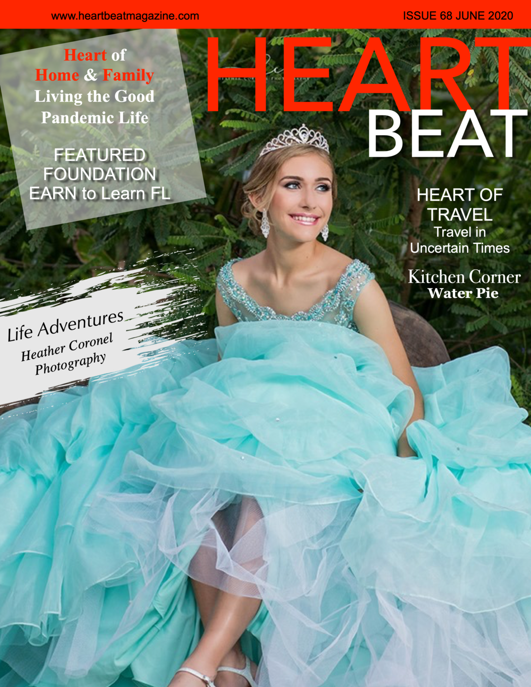 Page 1 of Heartbeat Magazine June 2020