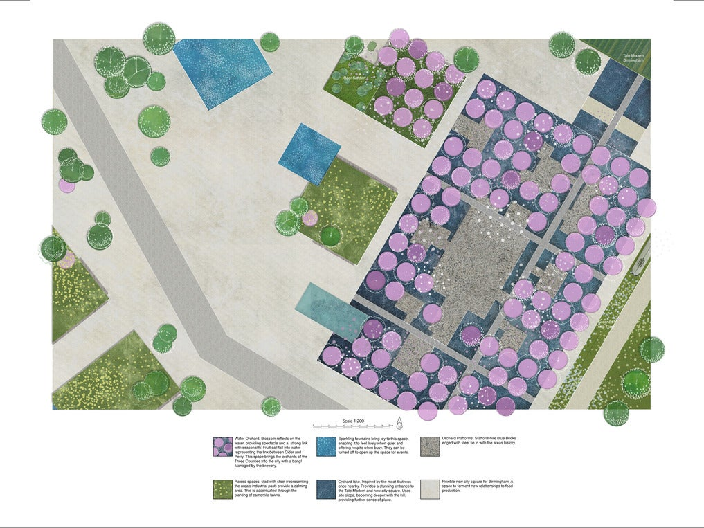 Page 1 of Russell Green - Landscape Architecture Portfolio