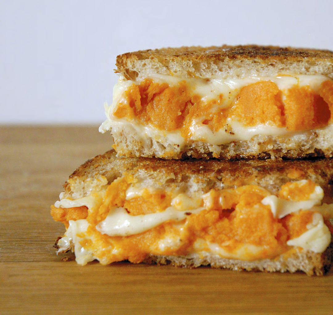 Page 6 of Sweet Potato Cheddar Grilled Cheese