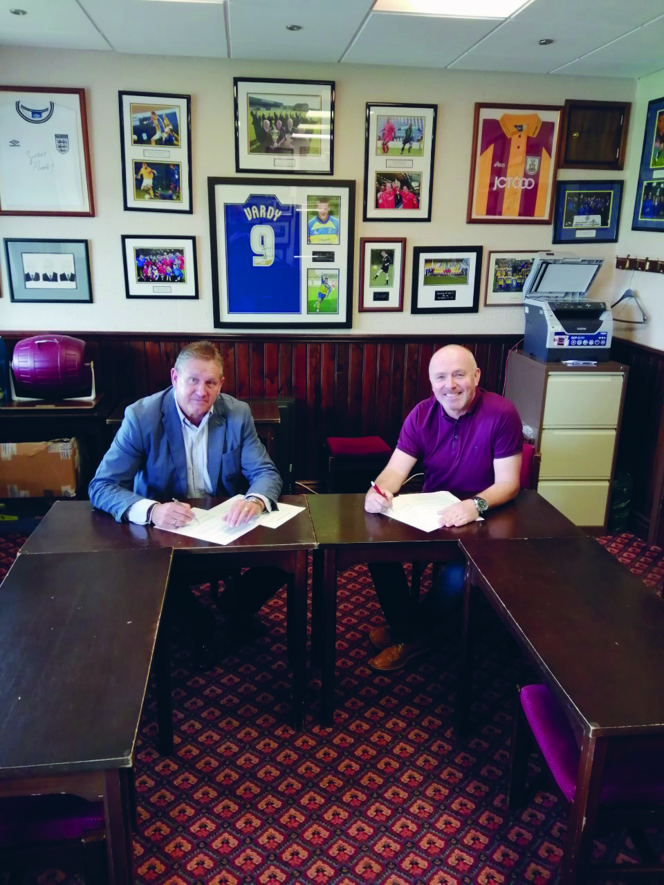 Page 16 of Steels sign new sponsorship deal