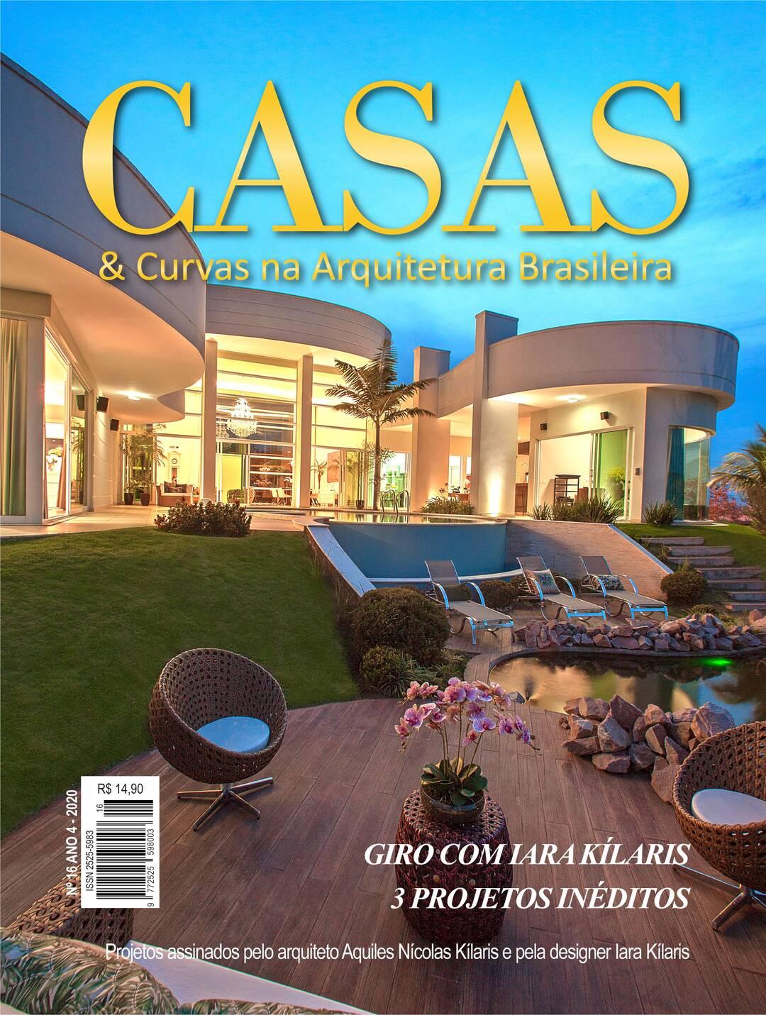 Page 1 of Revista CASAS & Curvas, ano 4, edição 16