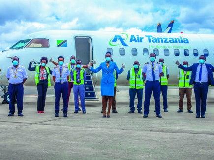 Page 4 of Air Tanzania's Covid-19 pandemic response