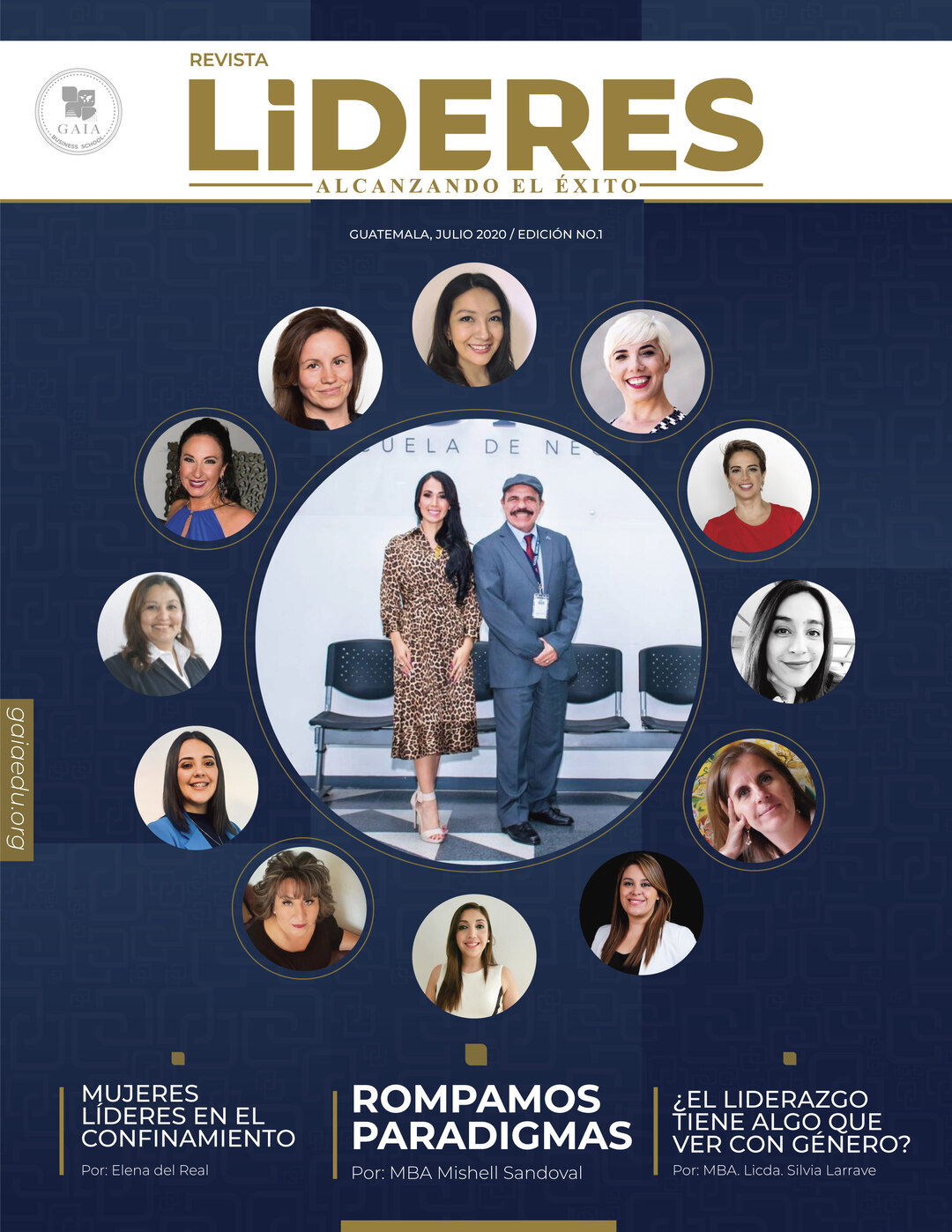 Page 1 of Lideres | Julio 2020