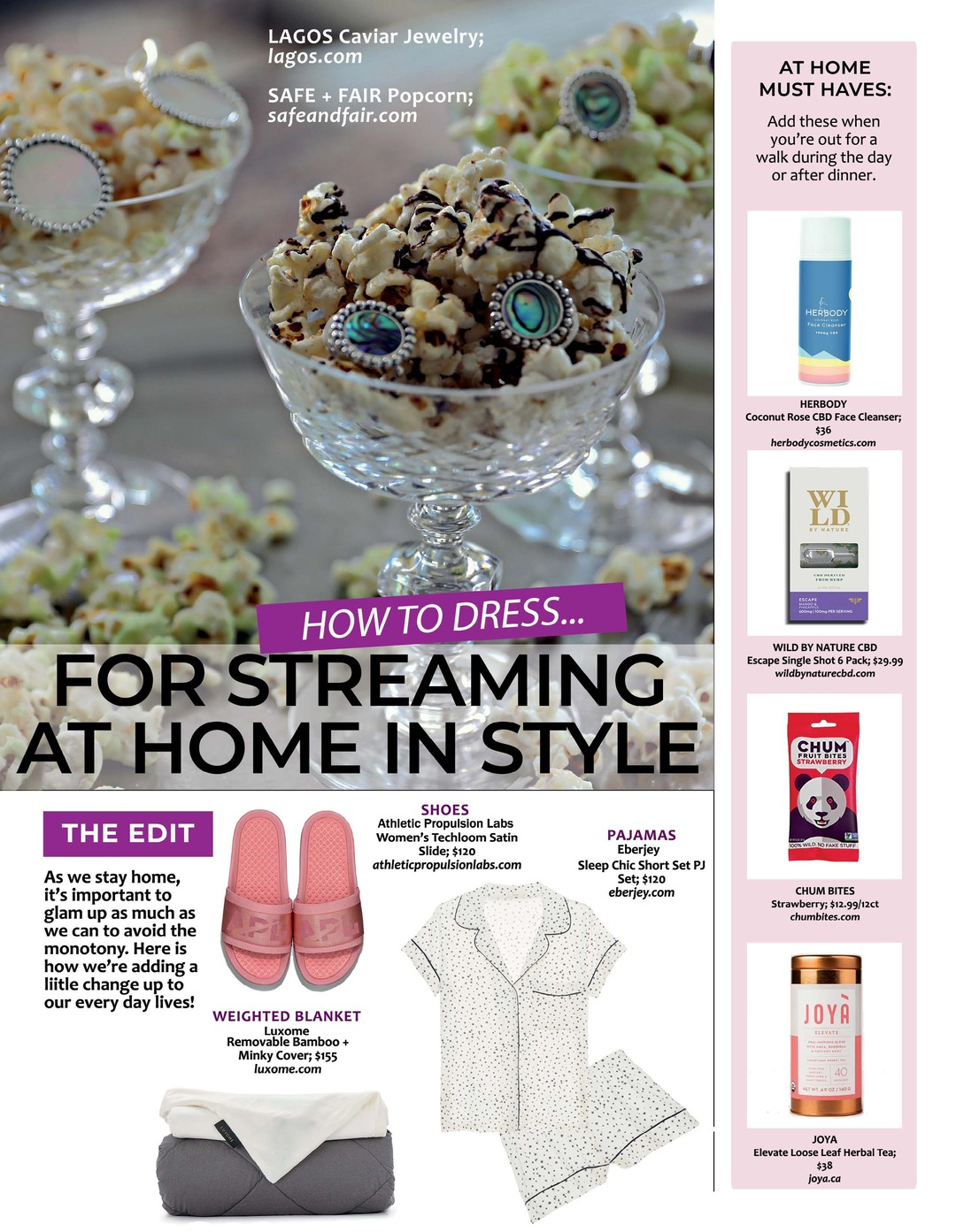 Page 104 of Athleisure Mag #55 Jul 2020 | How to Dress For Streaming at Home in Style