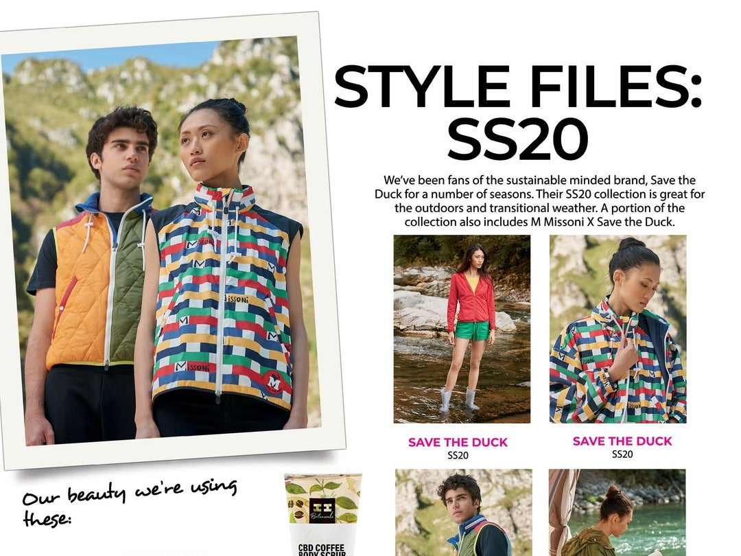 Page 108 of Athleisure Mag #55 Jul 2020 | Style Files: SS20
