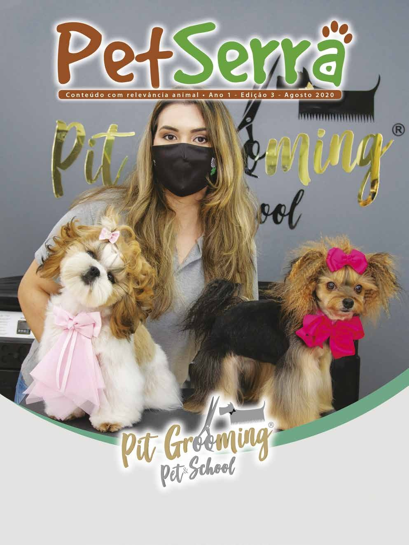 Page 1 of Revista PetSerra 3ª edição