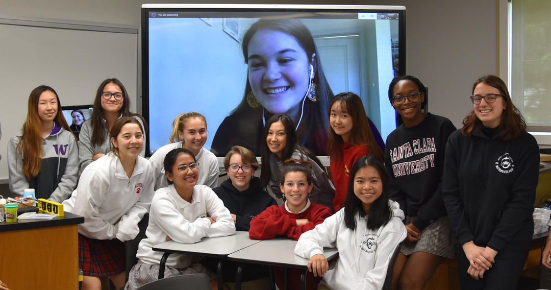 Page 12 of Students Embrace STEM Sisterhood