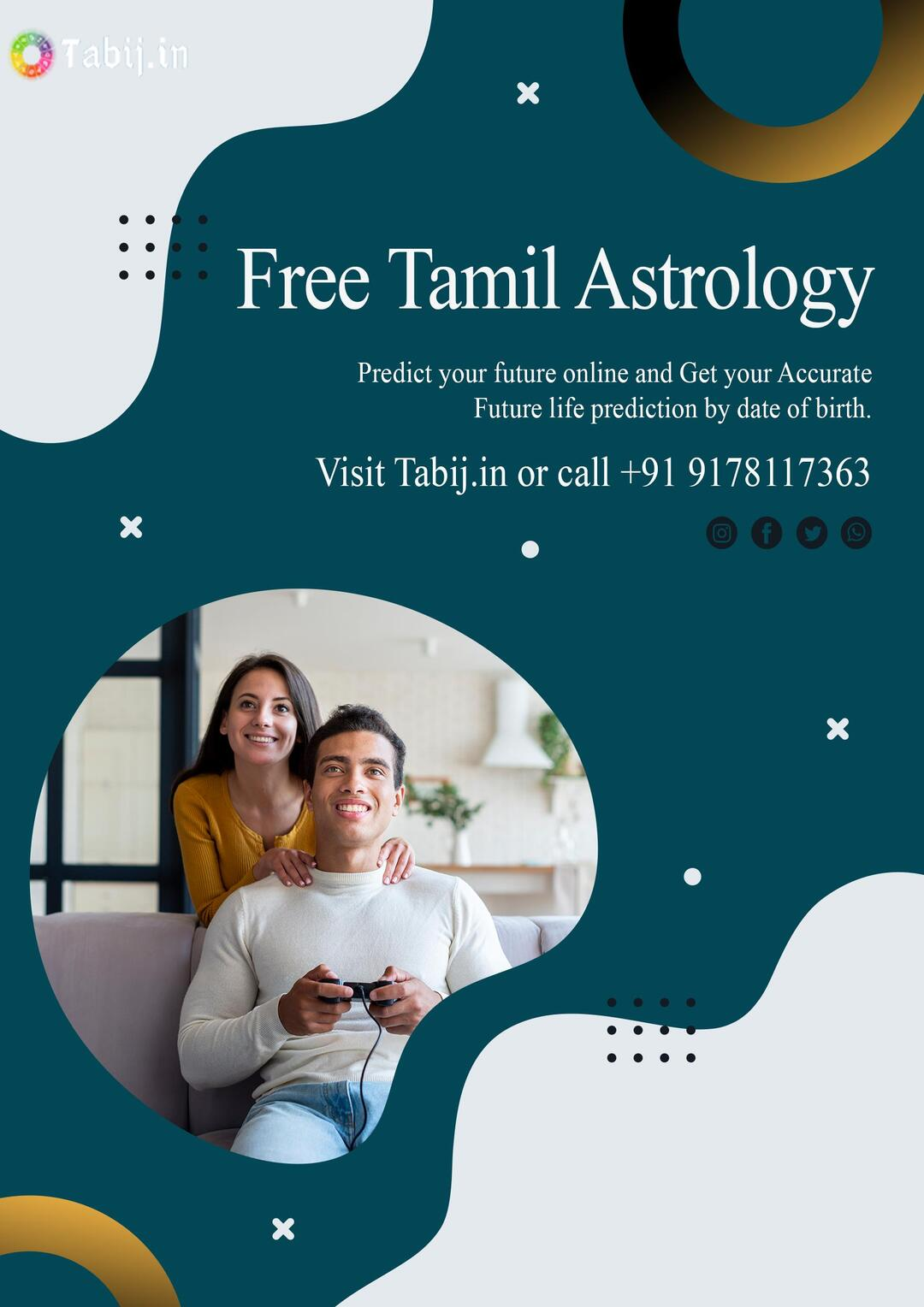 Detailed Life Predictions free: Get Tamil astrology based