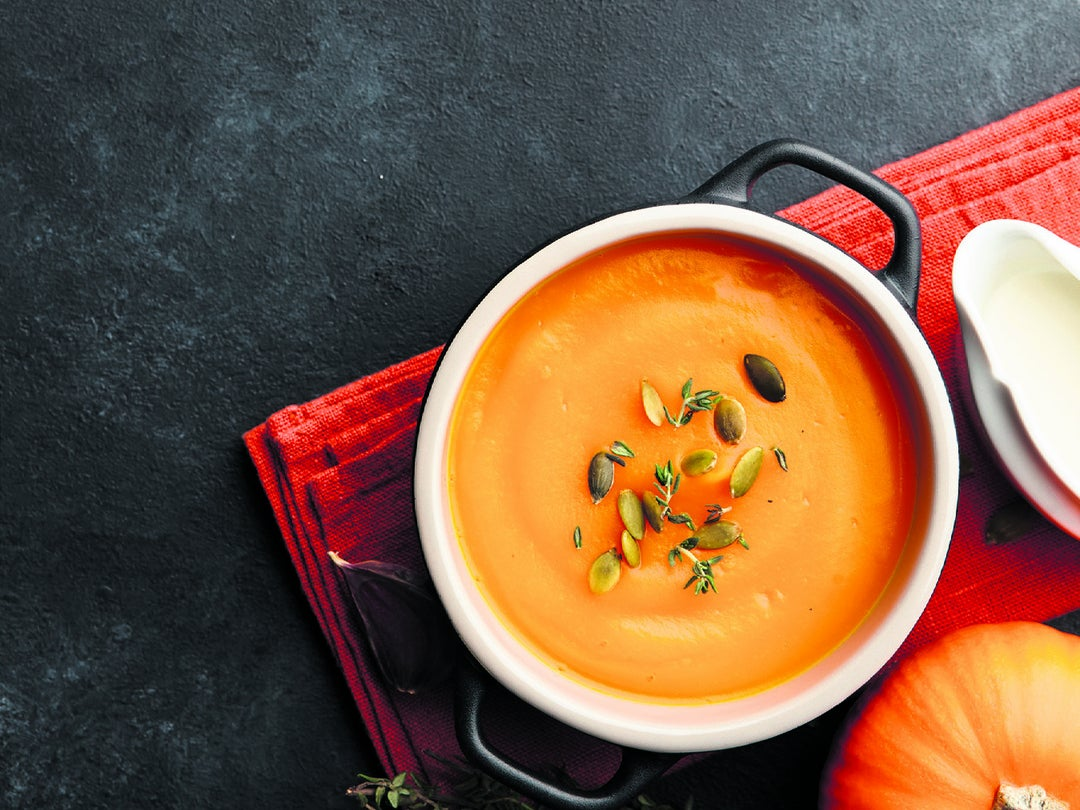Page 20 of Warmth for the autumn soul: Pumpkin soup recipe