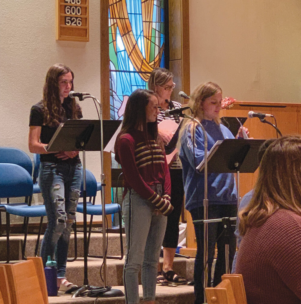 Page 1 of Young People's Choir Shares Gift of Music as We Celebrate the Liturgy