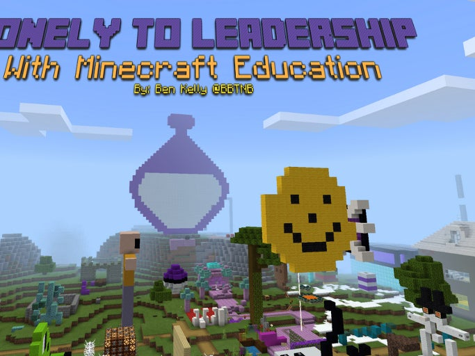 Page 30 of Lonely To Leadership with MinecraftEdu by Ben Kelly