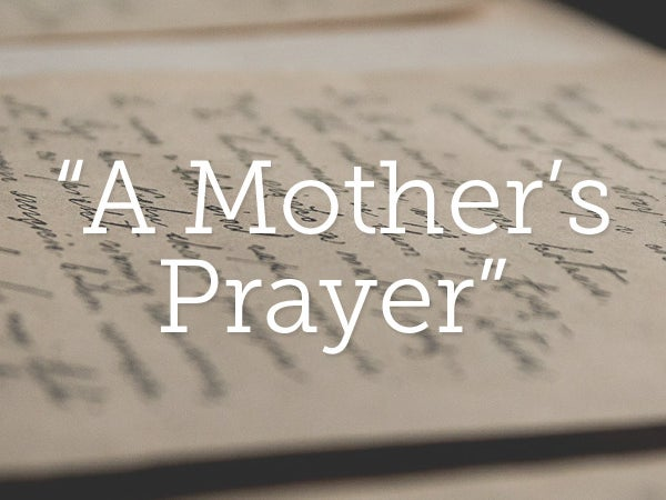 Page 8 of WHEN A MOTHER PRAYS Nothing stays the same...