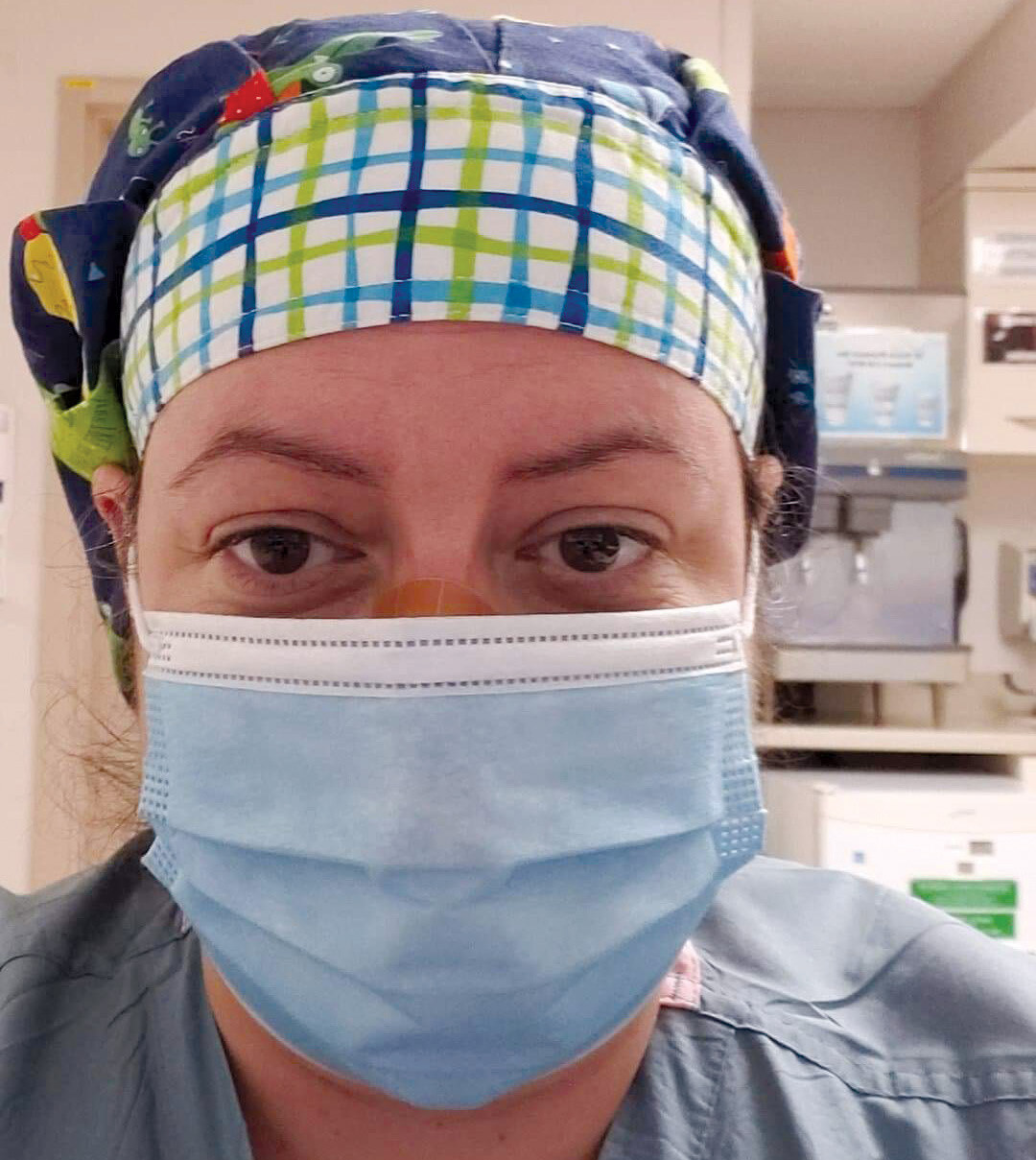 Page 12 of From family to frontline COVID Nurse - Tina's Story