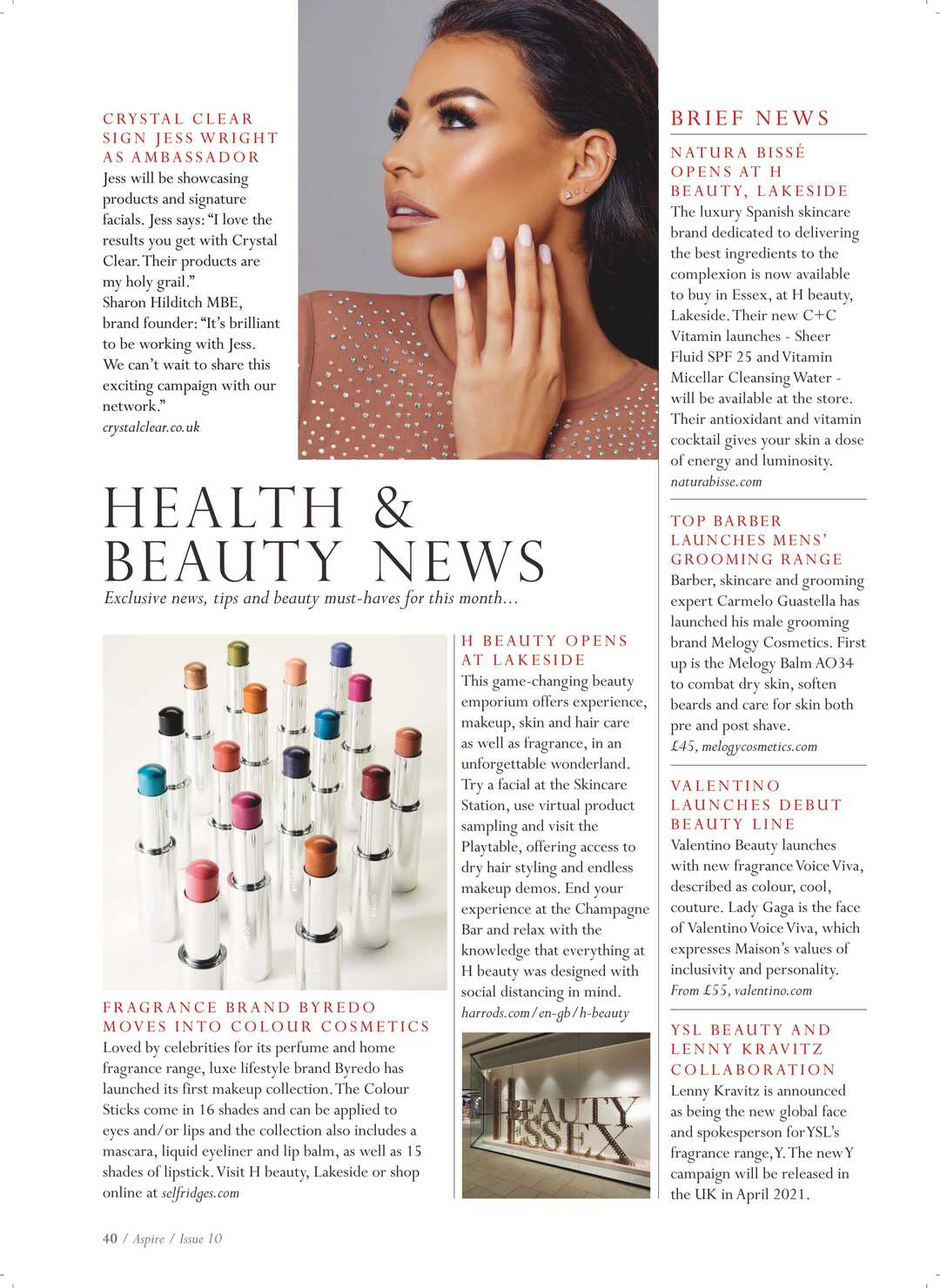 Page 40 of Health & Beauty News