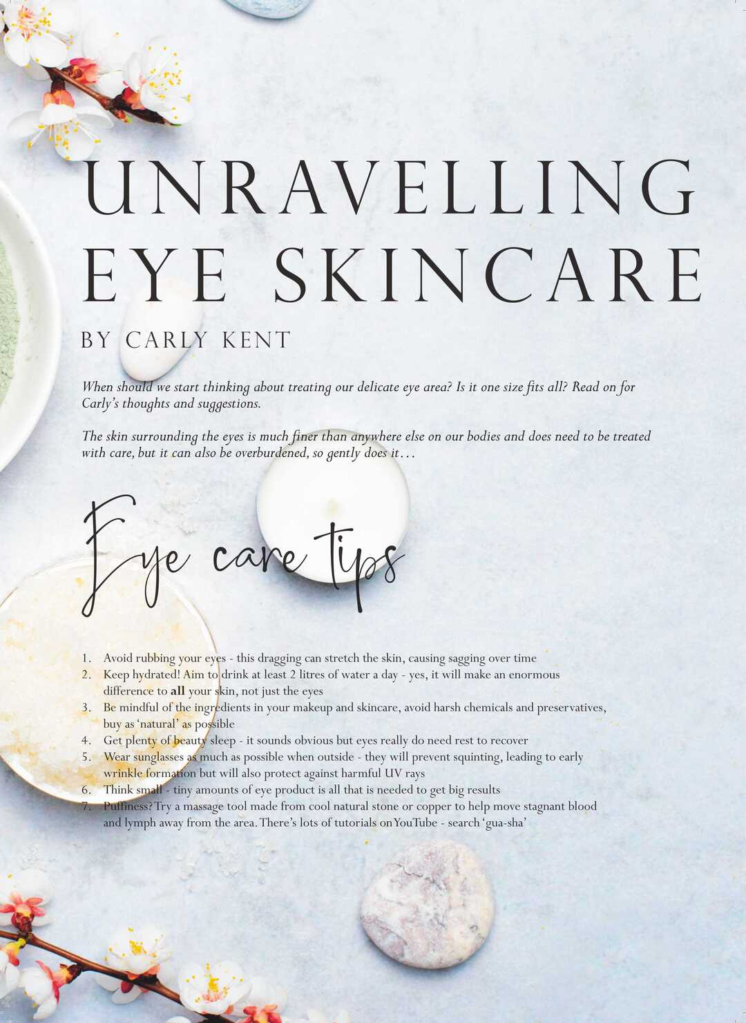 Page 48 of Unravelling Eye Skincare by Carly Kent