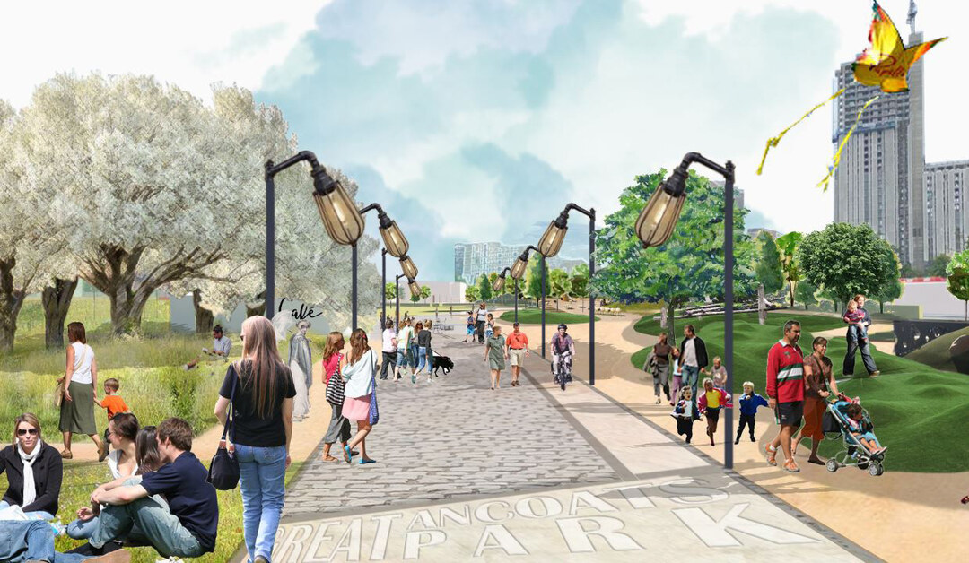 Page 34 of Great Ancoats Street – proposals for a new park