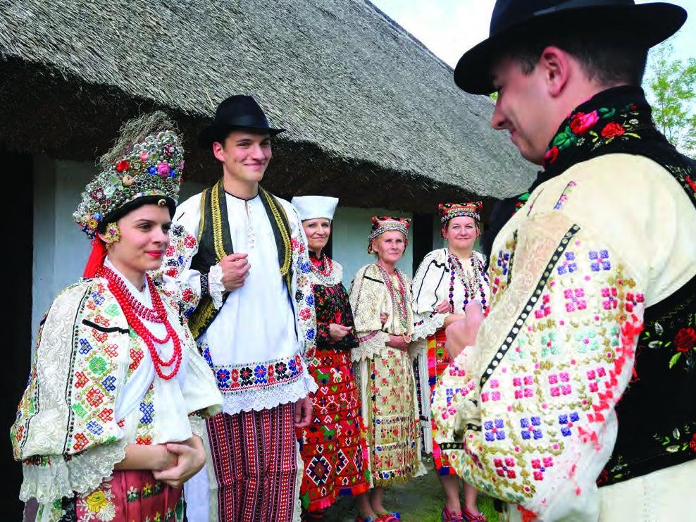 Page 1 of Croatian Folk Costumes of Baranya - Sokac-Croats of Drava Region