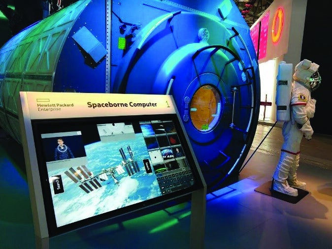 Page 76 of INTERNATIONAL SPACE STATION 20TH ANNIVERSARY HEWLETT PACKARD ENTERPRISE (SPONSORED CONTENT)