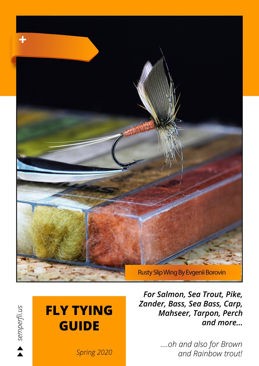 Page 1 of Semperfli 2021 Fly Tying Materials & Fly Suggestions