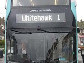 Page 4 of New bus carries tribute to James Ledward