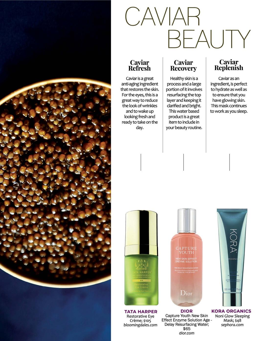 Page 88 of Athleisure Mag #59 Nov 2020 | Caviar Beauty