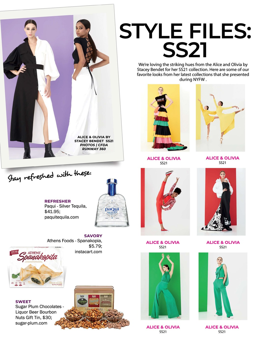 Page 94 of Athleisure Mag #59 Nov 2020 | Style Files SS:21
