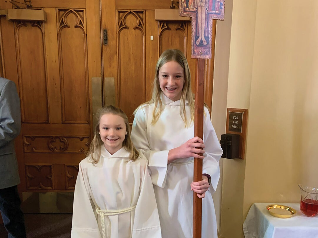 Page 1 of Altar Servers Embrace Opportunity to Grow in Faith and Stewardship