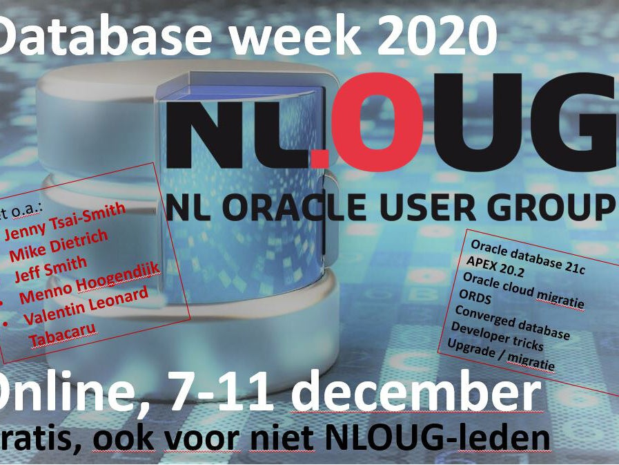 Page 6 of nlOUG Online Database week 2020