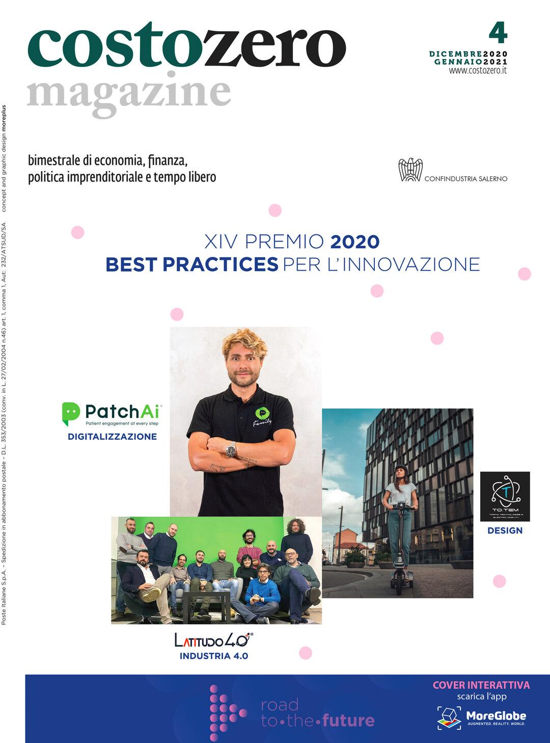 Page 1 of Costozero   XIV PREMIO 2020 BEST PRACTICES PER L'INNOVAZIONE