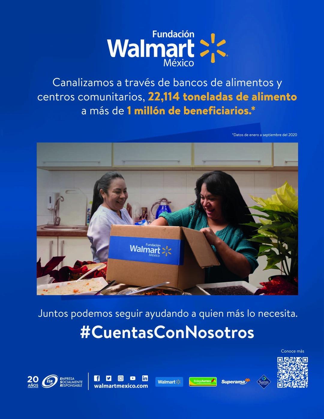Page 13 of Walmart canaliza 22,114 toneladas de alimentos a más de 1 millón de beneficiarios en bancos de alimentos