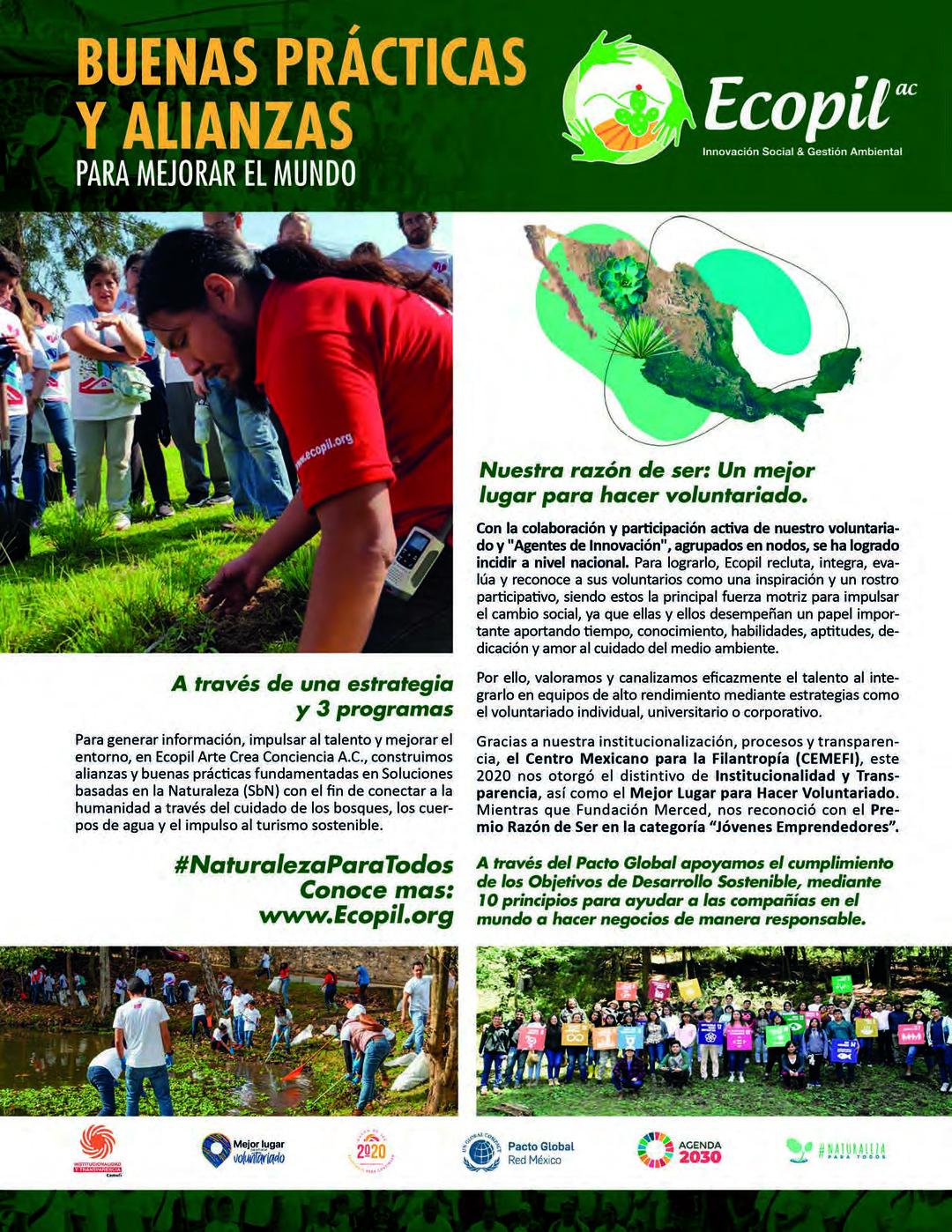 Page 33 of Buenas prácticas y alianzas para mejorar el mundo: Ecopil