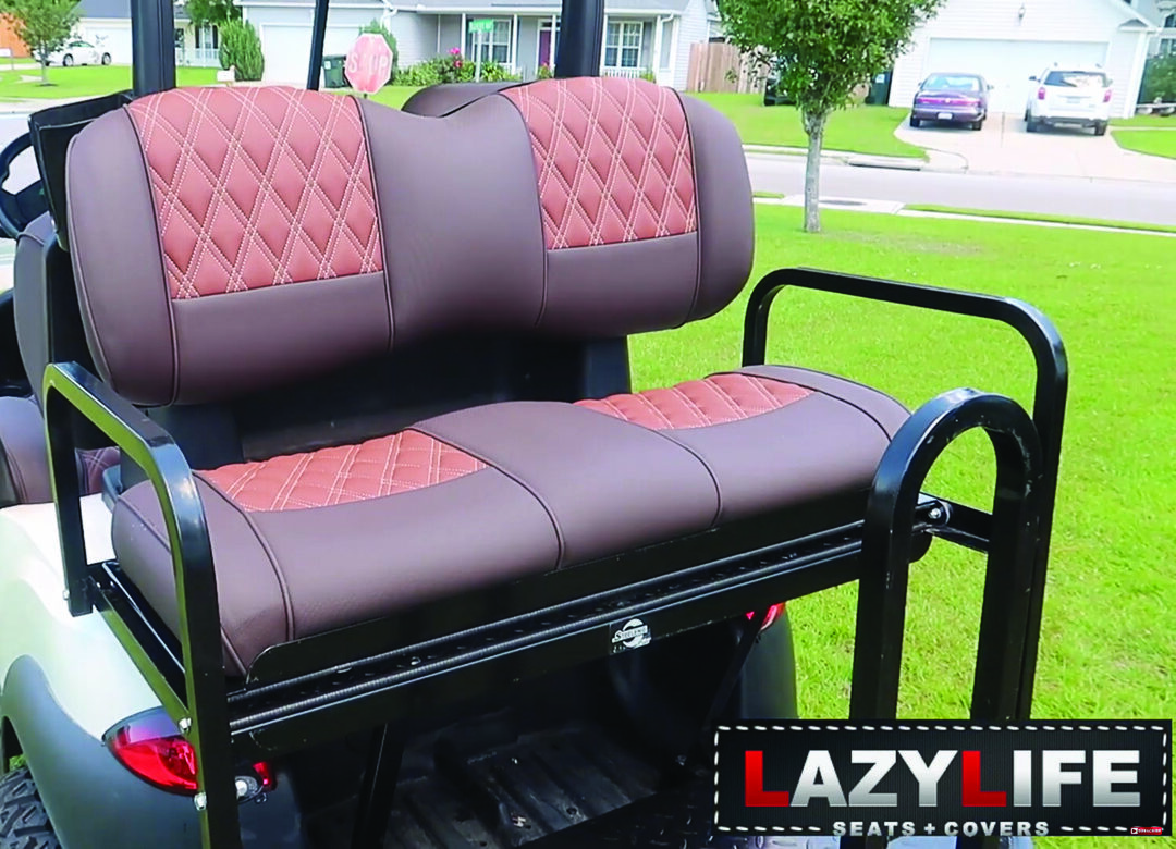 Page 34 of How to Install Lazy Life Seats on a Golf Cart